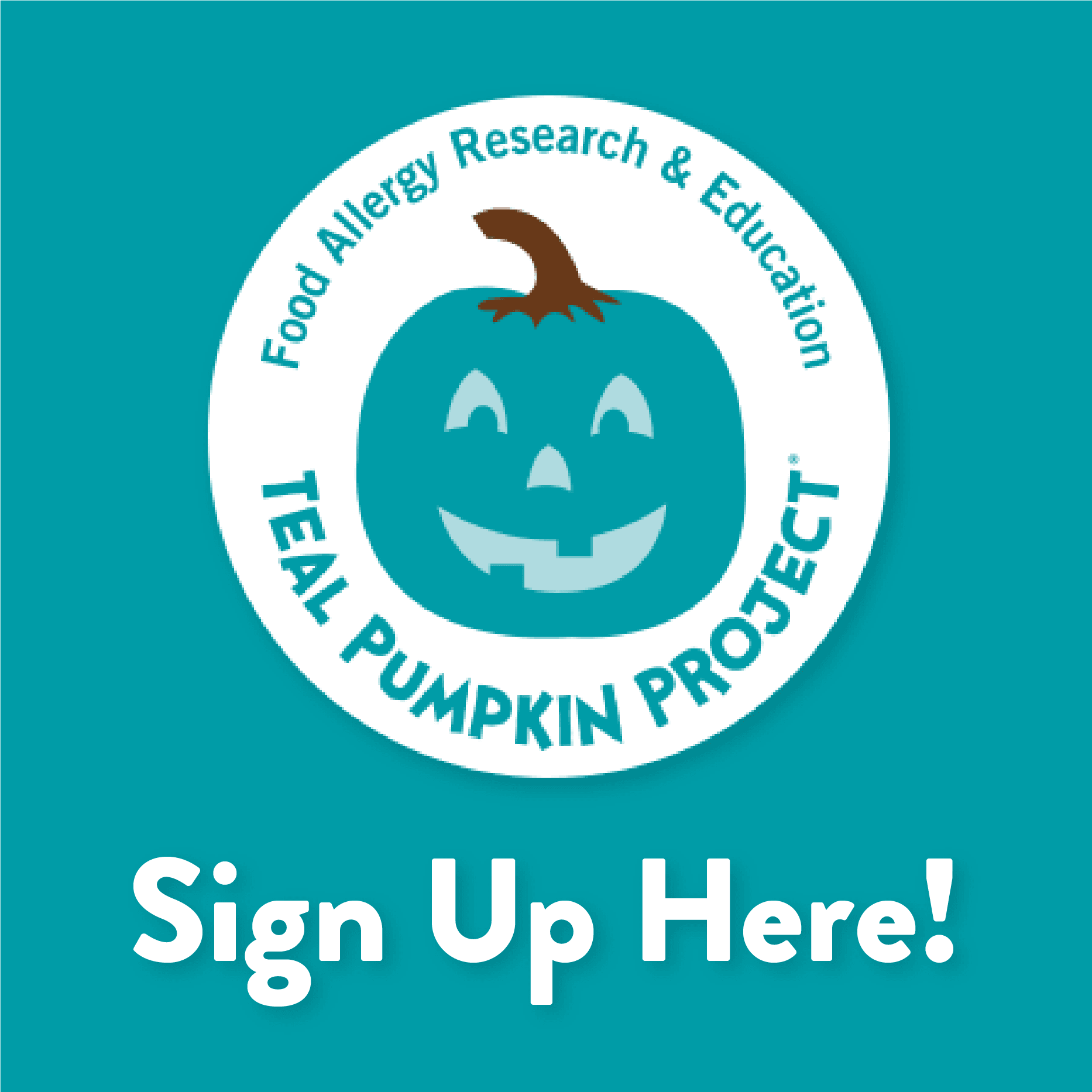 Teal Pumpkin Sign Up