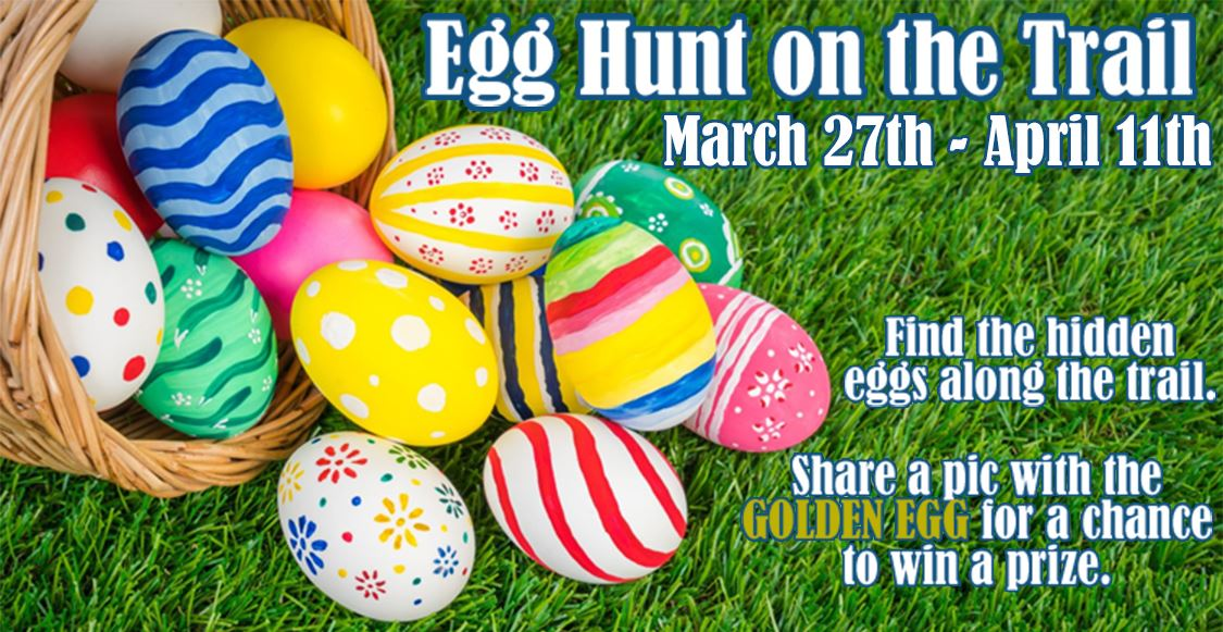 Egg Hunt on the Trail 2021