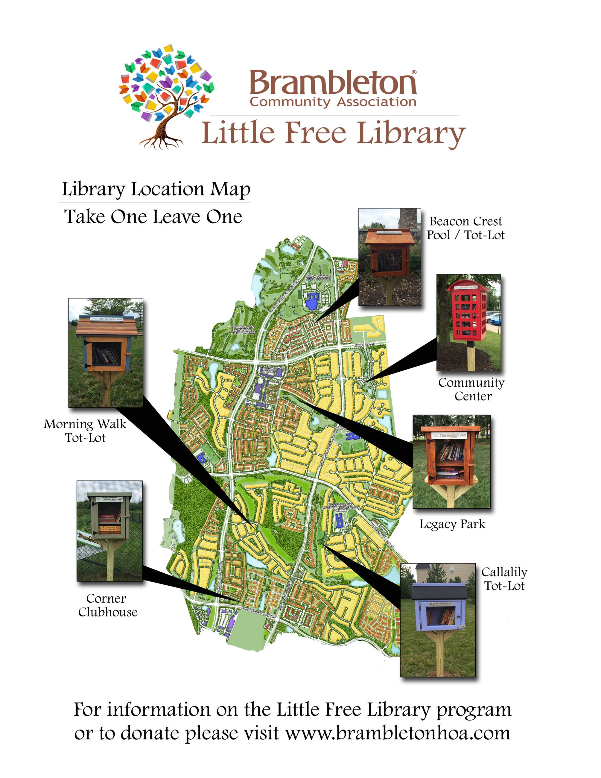 Little Free Library Map copy