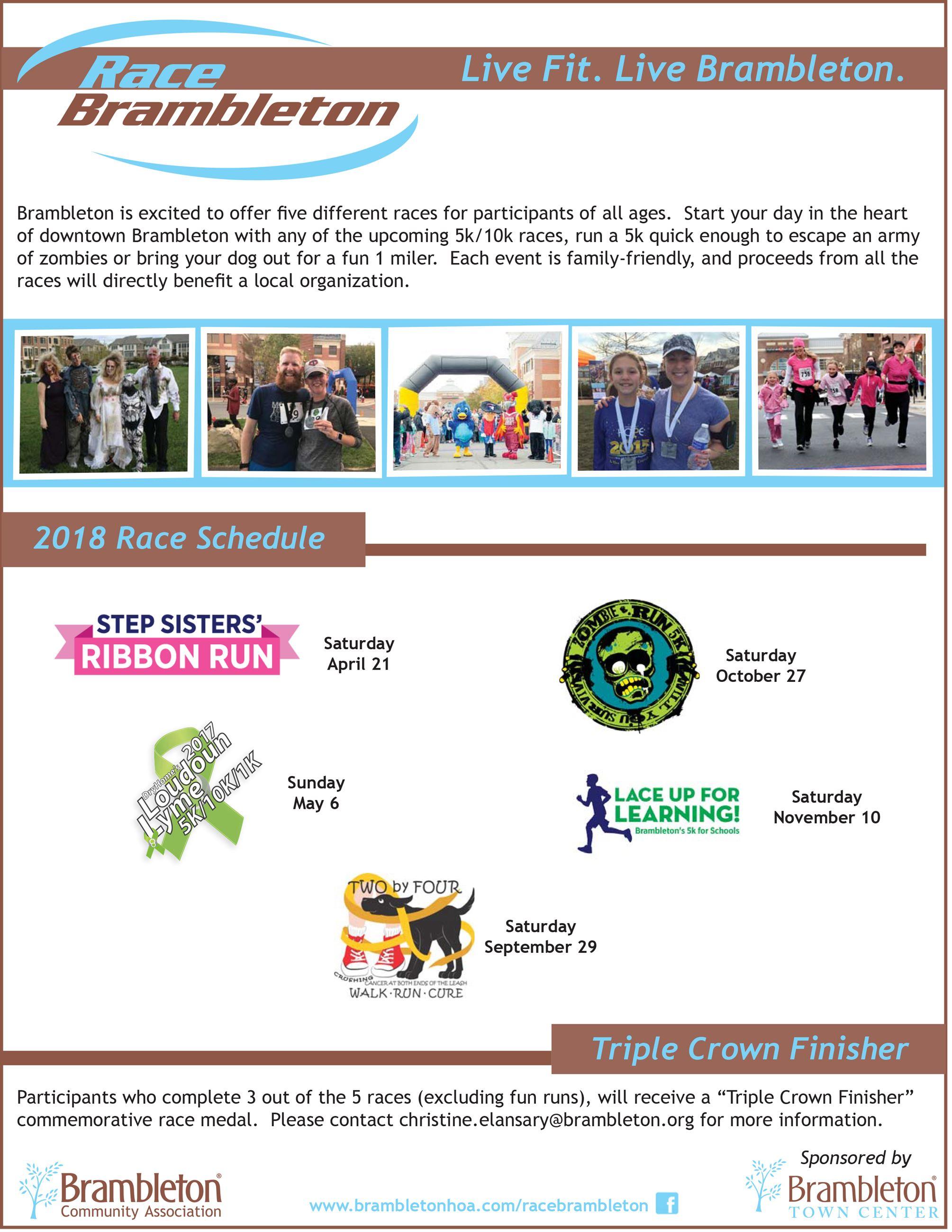 Race Brambleton | Brambleton Community Association, VA
