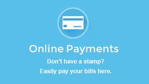 Online Payments - Don't have a stamp? Easily pay your bills here.